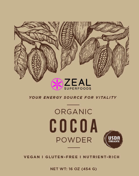 packaging design for an organic health food business