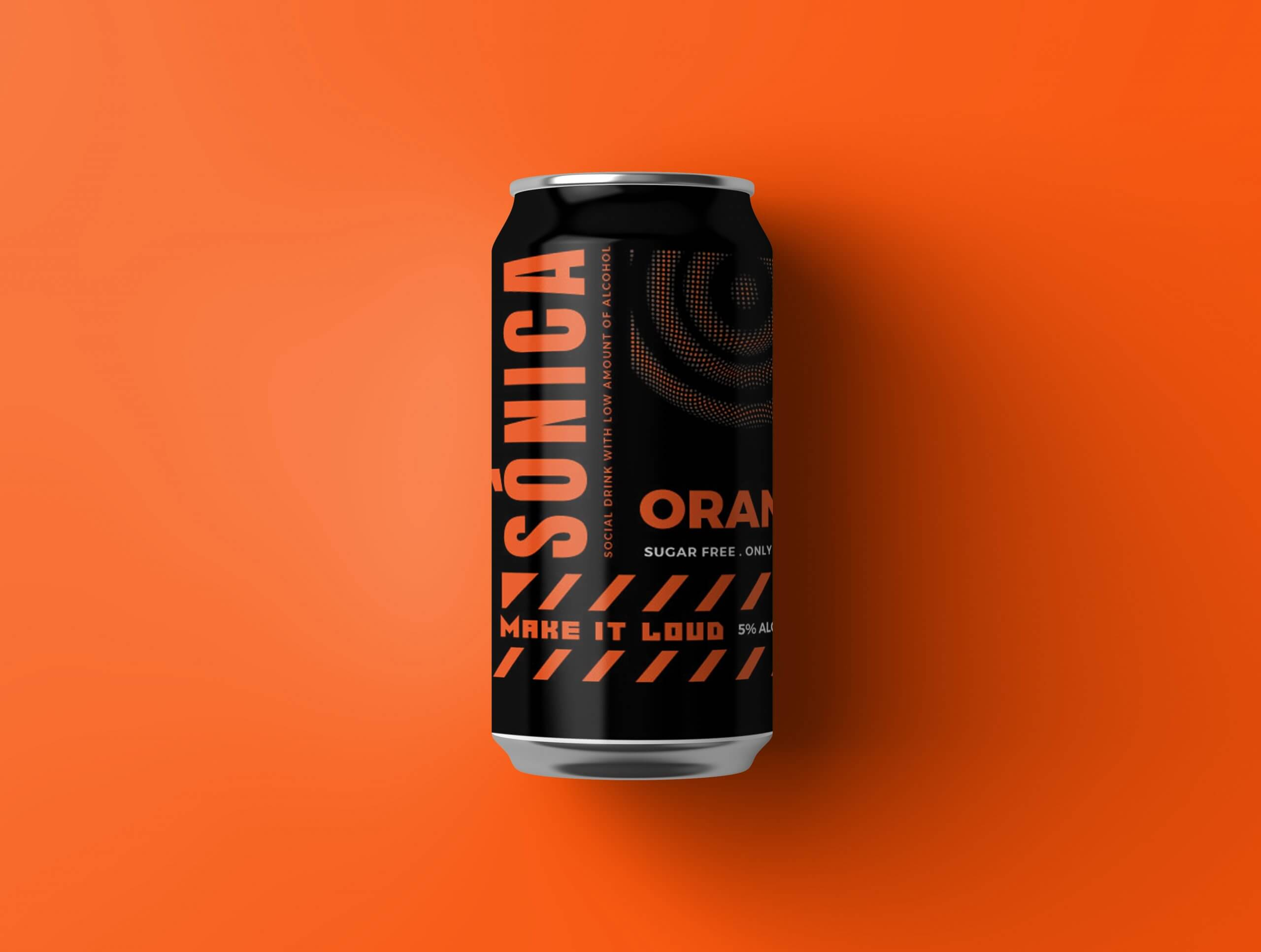 packaging design for drink product